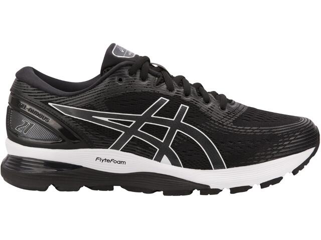 asics Gel-Nimbus 21 Shoes Men, black/dark grey